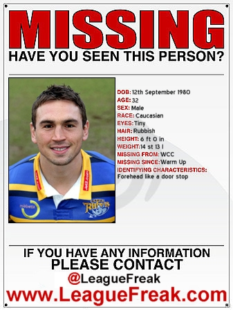 Where Is Kevin Sinfield?