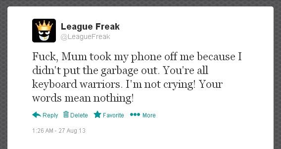 LeagueFreaksMumTweet2