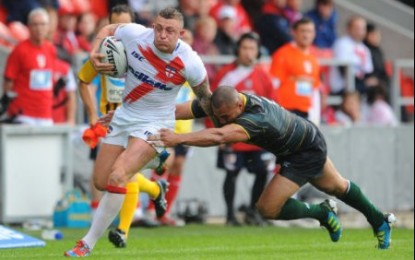 England Rugby League Team Named For Exiles Clash