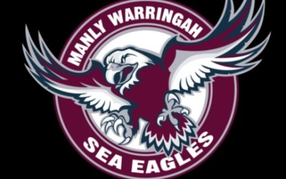 The Manly Sea Eagles Defeat The North Queensland Cowboys