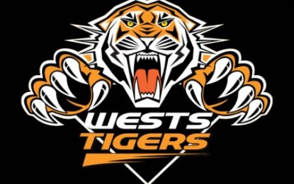 Keith Lulia Scores 4 Tries As Wests Tigers Youngsters Destroy The Canterbury Bulldogs