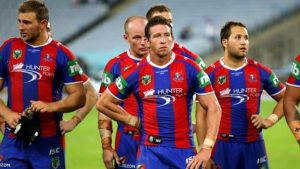 Knights Dejected