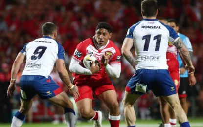Tonga Dominates Great Britain In Rugby League International